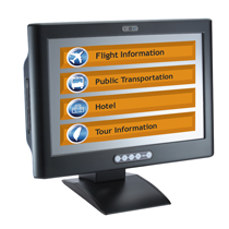 Information about Infotainment Touch Panel PC